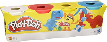 Play Doh - Pack 4 plastilinas, Juego Creativo (Hasbro 22114EU4 ...