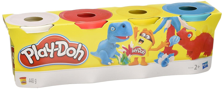 Play-Doh - Pack 4 plastilinas, Juego Creativo (Hasbro 22114EU4 ...