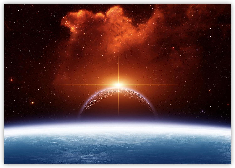 Planeten Sterne Weltall All XXL Wandbild Foto Poster P0218