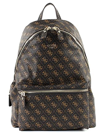 Backpack Guess Sacs BrownChaussures Leeza Et y0vN8wmOn