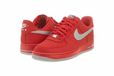 best website 7ca2c 19a58 NIKE Air Force 1 Low Mens Basketball Shoes 488298-608 University Red 7.5 M  US