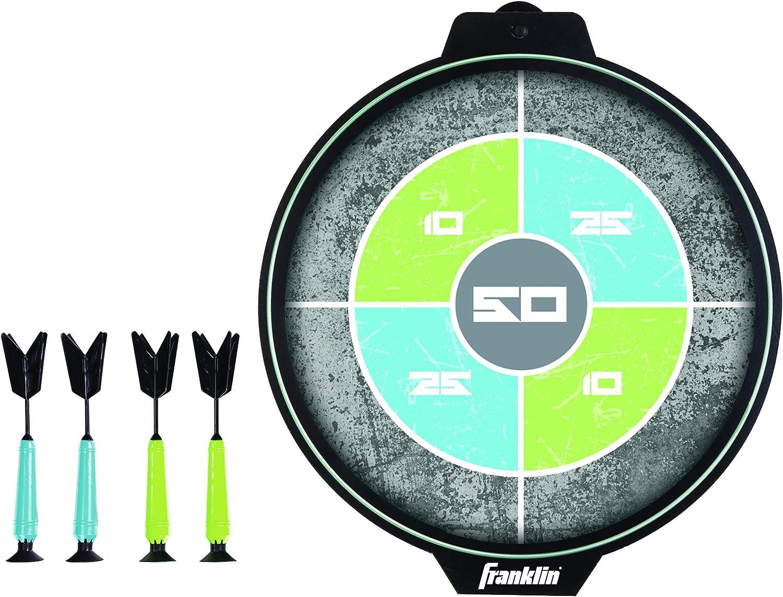Mehrfarbig Franklin Sports Dartboard with Cabinet Dartscheibe mit Schrank Einheitsgr/ö/ße
