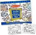 Melissa & Doug Jumbo 50-Page Kids' Coloring Pad - Space, Sharks, Sports, and More