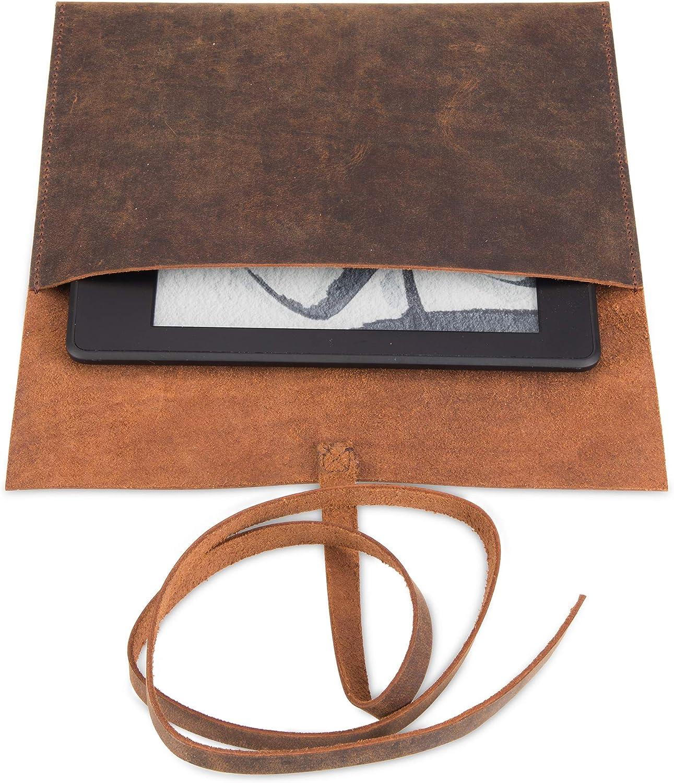 100 /% cuir de buffle v/éritable Kindle Paperwhite Look vintage authentique Fait /à la main /Étui pour Kindle Voyage /Étui en cuir de buffle pour Kindle One of a-Kind