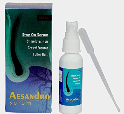 8a094b5ce81 Buy Aesandro Hair Growth Serum 50m - Capixyl, Clover Flower Extract and  Tomato Root Extact*Free Delivery* Online at Low Prices in India - Amazon.in