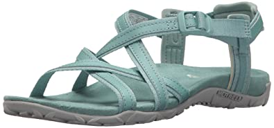 573ceaca3ef Merrell Women's Terran Ari Lattice Sport Sandal, Aquifer, 5 Medium US