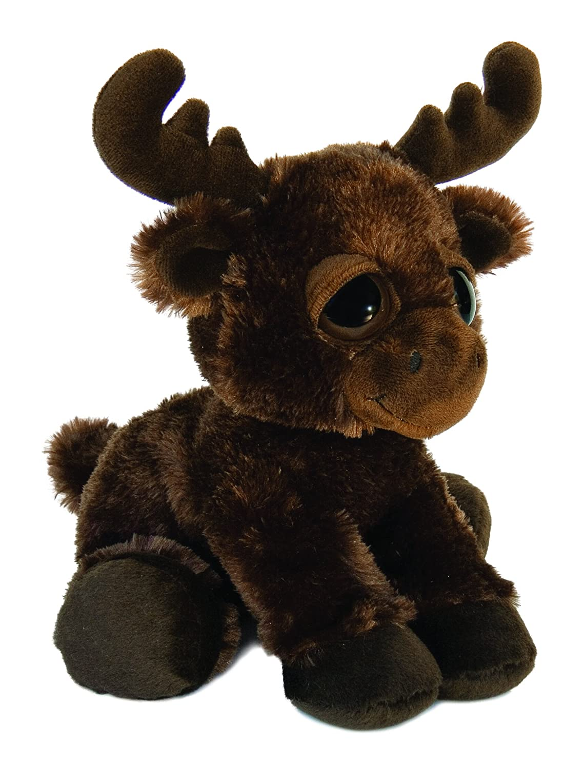 "Michigan Moose Dreamy Eyes 10"" Stuffed Animal Aurora 21206 AUR_DE10_michigan-21206"