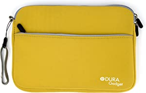 DURAGADGET Yellow Travel Neoprene Zipped Case/Cover for Acer Iconia Tab A211, Acer Iconia Tab A210 25,7 cm (10,1 Zoll) Tablet-PC (NVIDIA) & Iconia Tab A510