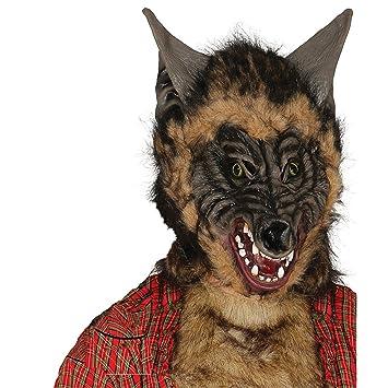 Guirca 2468 - Mascara Lobo con Pelo