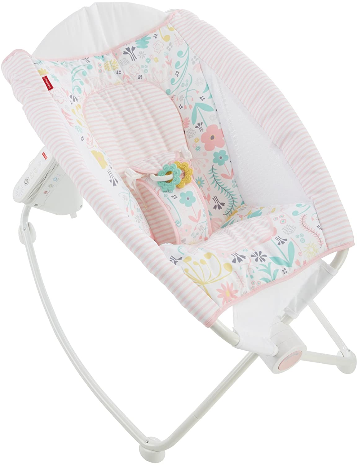 Fisher-Price Auto Rock 'n Play Sleeper, Pink DTG91