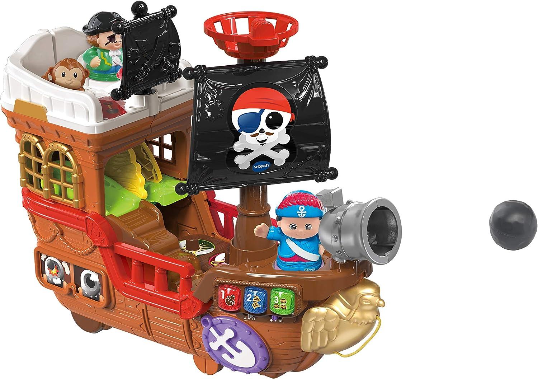 Vtech 80-177804 Kleine Entdeckerbande-Piratenschiff Spielfiguren Babyfigure