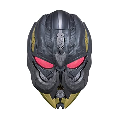 Transformers: The Last Knight Megatron Voice Changer Mask: Toys & Games