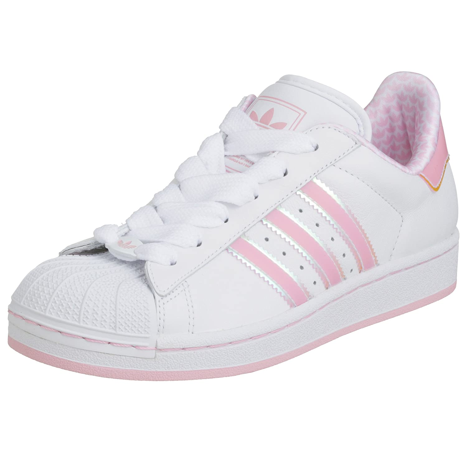 Adidas Originals Superstar 2 White/Pink Womens