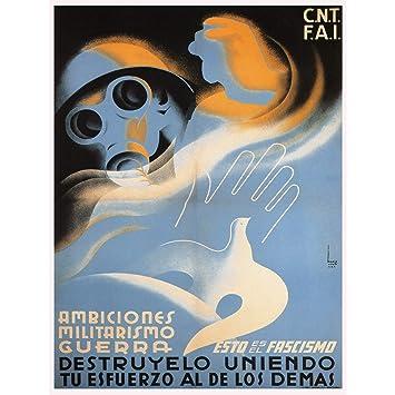 amazon war propaganda spanish civil anti fascist cnt fai republican