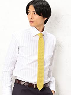 Silk Knit Tie 3134-343-2387: Yellow