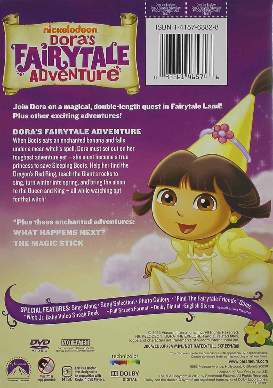 Amazon Dora The Explorer Doras Fairytale Adventure Movies TV
