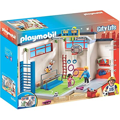 PLAYMOBIL Gym Building Set: Toys & Games