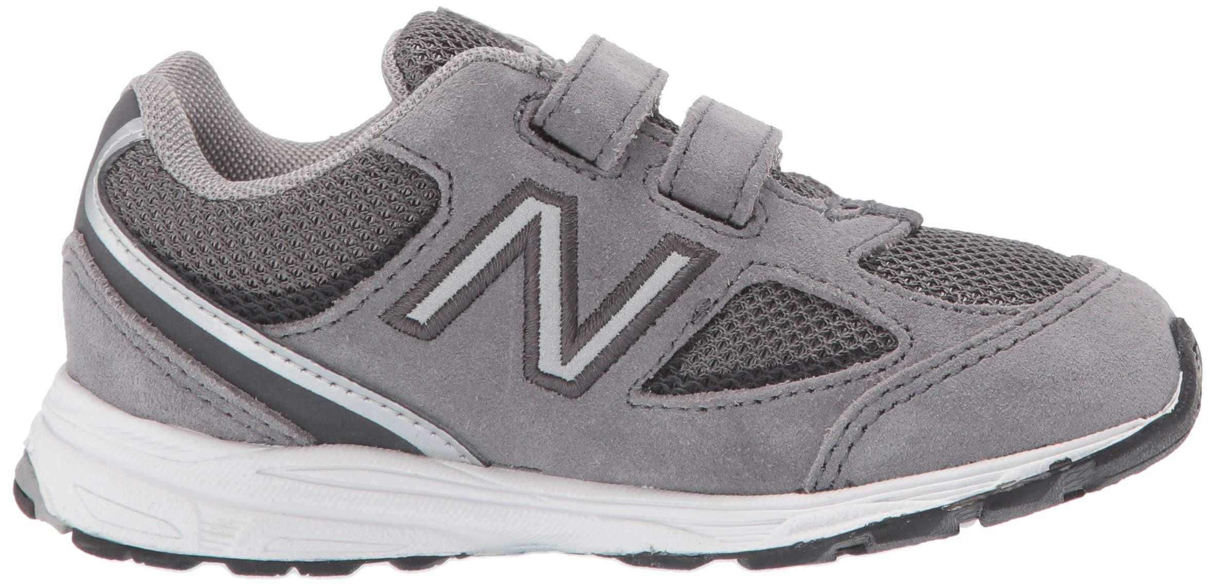 New Balance Boys' 888v2 Hook and Loop Running Shoe, Dark Grey, 2 M US Infant by New Balance (Image #6)