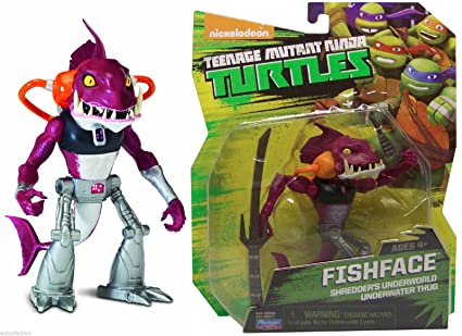 Amazon.com: Teenage Mutant Ninja Turtles TMNT Fishface ...