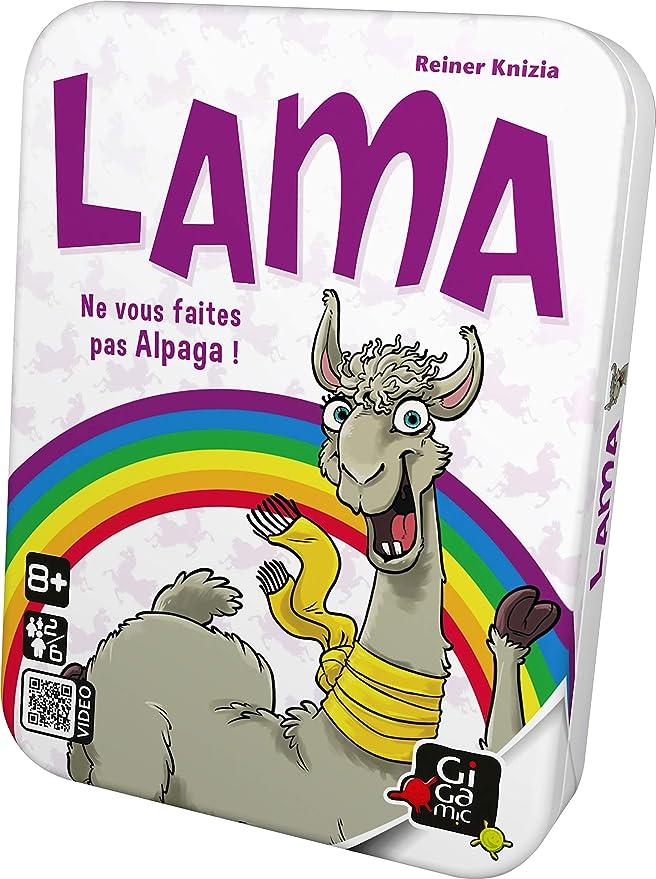Gigamic- Lama, AMLAMA , color/modelo surtido: Amazon.es: Juguetes y juegos