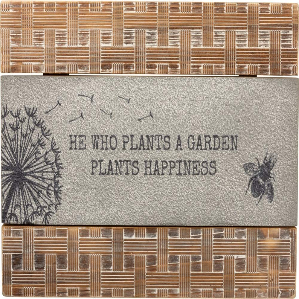 Primitives by Kathy Wall Decor He Who Plants A Garden