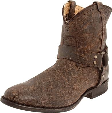 FRYE Damen Jayden Cross Desert Boots, Braun (Dark Brown), 36 EU