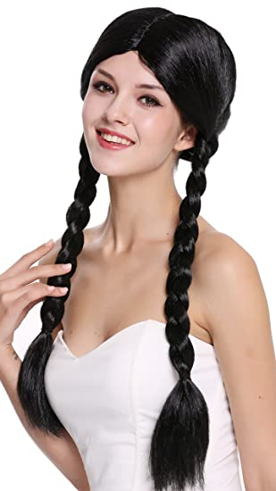 Wig Me Up 90958 Za103 Perücke Damen Fasching Karneval Zwei