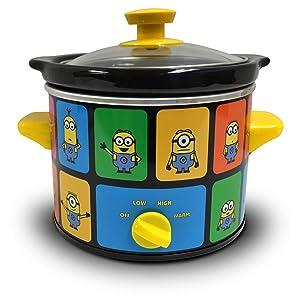 Uncanny Brands Minions 2 Quart Slow Cooker- Kitchen Appliance