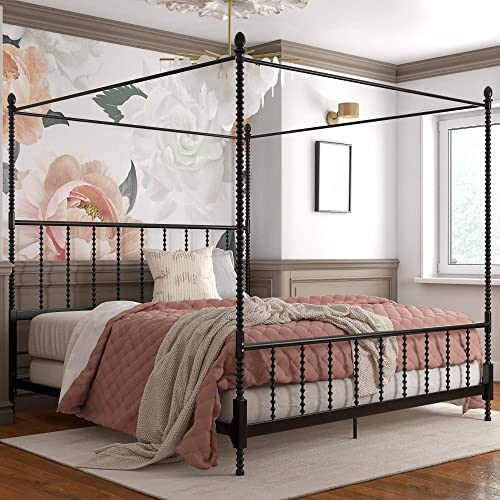 Reviewed: DHP Jenny Lind Metal King Canopy Bed