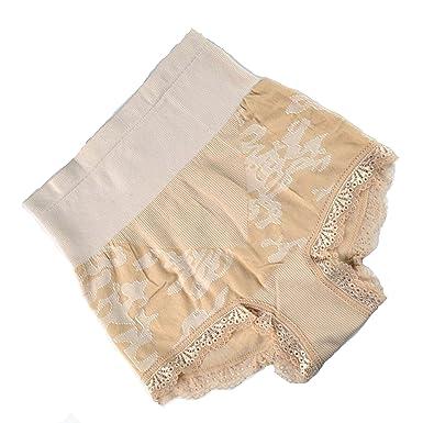 MUNAFIE Femme Culotte Sculptante Cullotte Gainante Invisible Panty Minceur  avec Armature Body Gaine Amincissante Ventre Plat f82dd47cc33