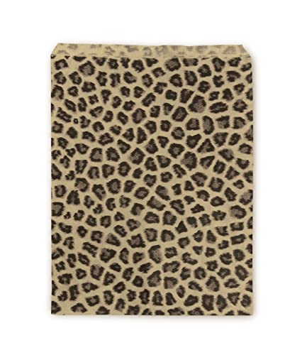 Amazon.com: Joyería de papel Bolsas 5 x 7 Leopard (Paquete ...