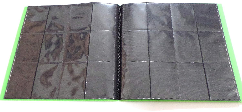 160 Card Binder Docsmagic.de Pro-Player 4-Pocket Album Black Pokemon Yu-Gi-Oh! Magic: The Gathering