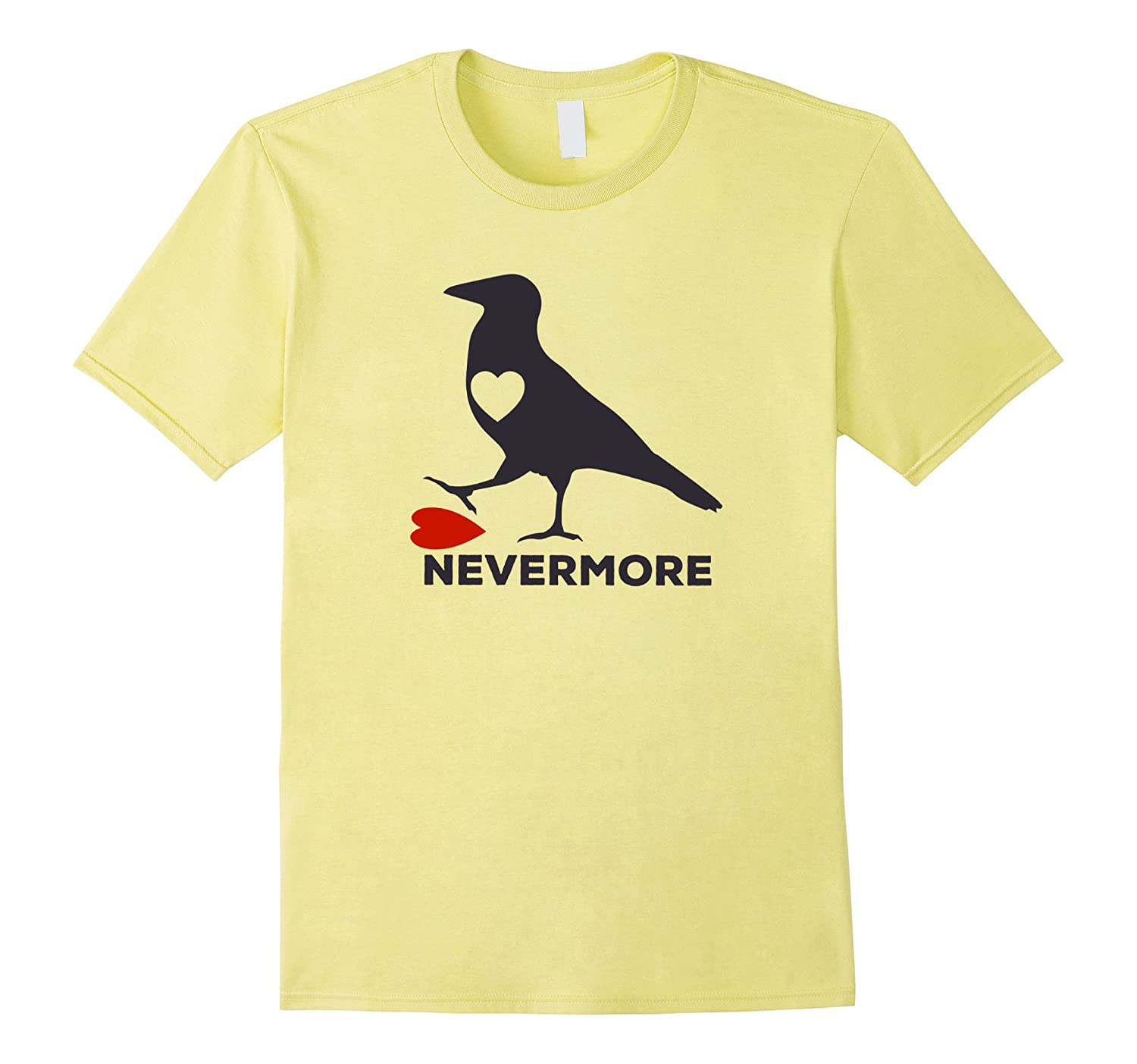 Raven Nevermore Anti Valentines Day Funny Tee T Shirt Cd Canditee