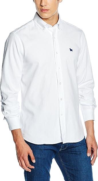 TORO Camisa Osborne M/L Lisa, 1 Blanco, S para Hombre: Amazon.es: Ropa y accesorios
