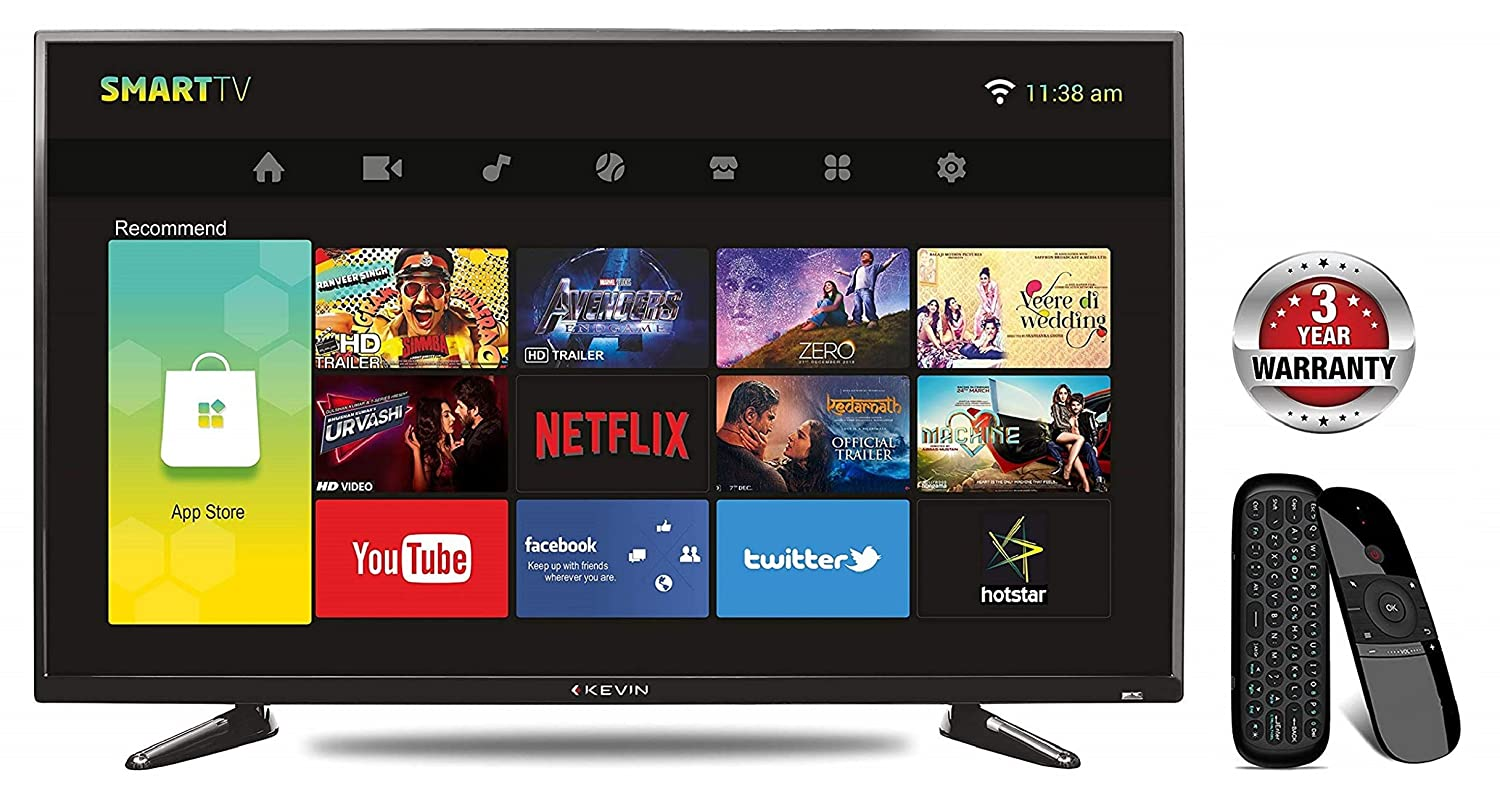 Kevin 102 cm (40 Inches) Full HD LED Smart TV