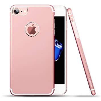 Roybens Funda iPhone 6s, [Aluminio + Silicona] 2 Capas Antigolpes Ultra-delgado Fina Carcasas Para Apple iPhone 6/6s [4.7