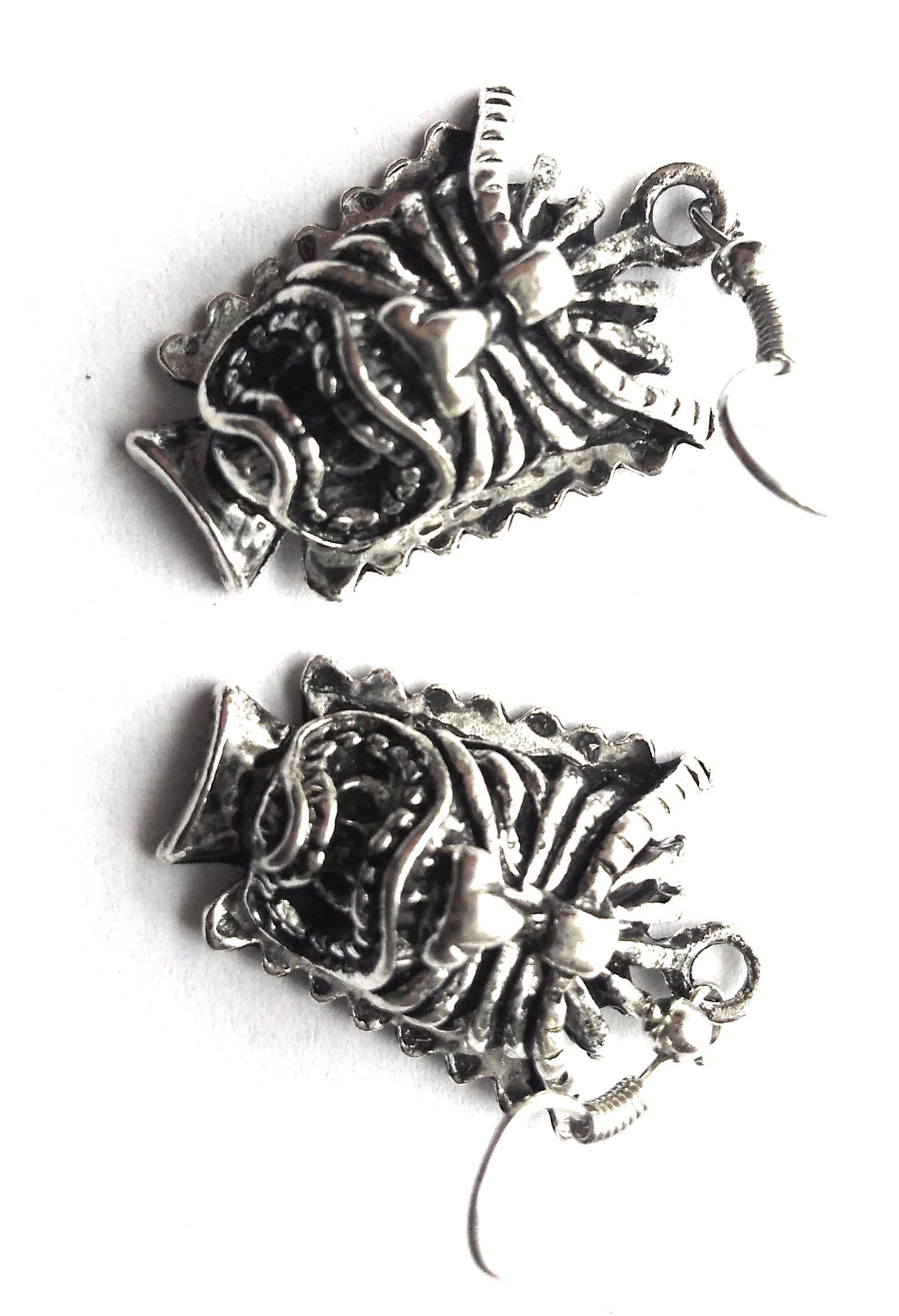 Money Tiki Earrings - Luau Jewelry