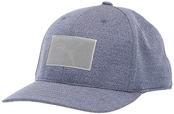 757362af Puma Golf 2019 Men's Utility Patch Snapback Hat (One Size), Peacoat ...