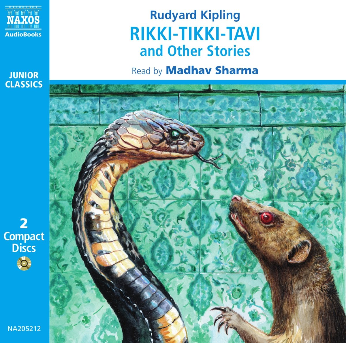 Rikki Tikki Tavi And Other Stories Junior Classics Rudyard Kipling Madhav Sharma 9789626340523 Amazon Books
