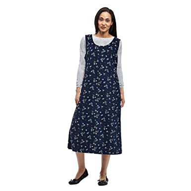 976910bc2d La Cera Women s Sleeveless Corduroy Dress at Amazon Women s Clothing ...