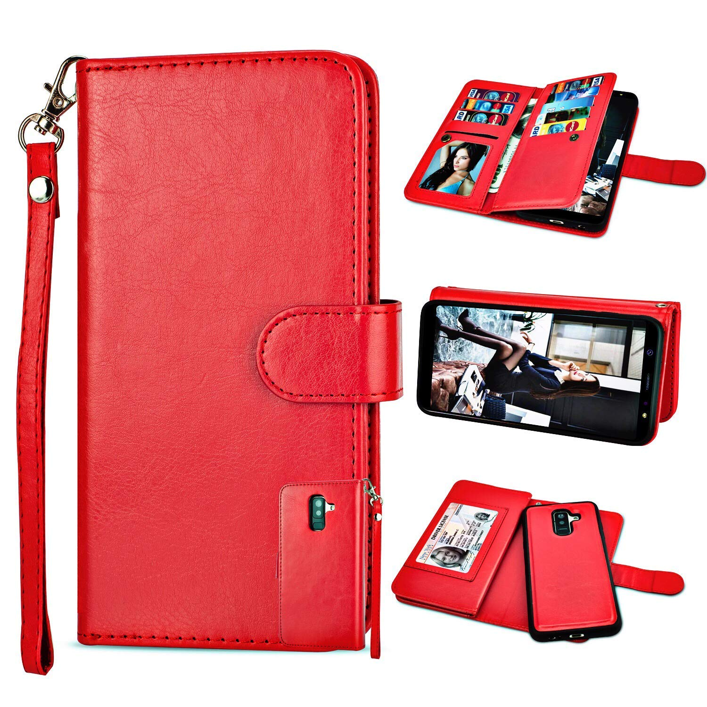 Galalxy A6 Plus Wallet Case...