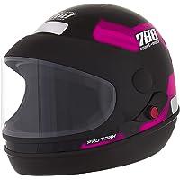 Pro Tork Capacete Sport Moto 788 60 Preto/Rosa