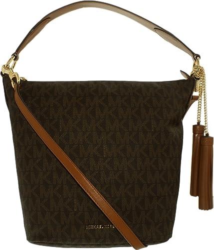 b04708e080f6 Amazon.com: MICHAEL Michael Kors Women's Elana Large Convertible Shoulder  Brown Handbag: Michael Kors: Shoes
