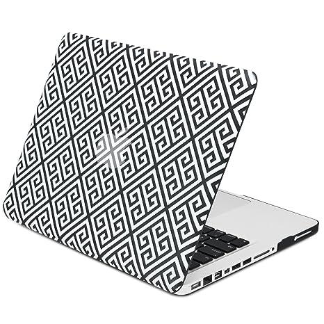 "Black Greek Key Matte Case for MacBook Pro 13/"" without Retina  Model A1278"