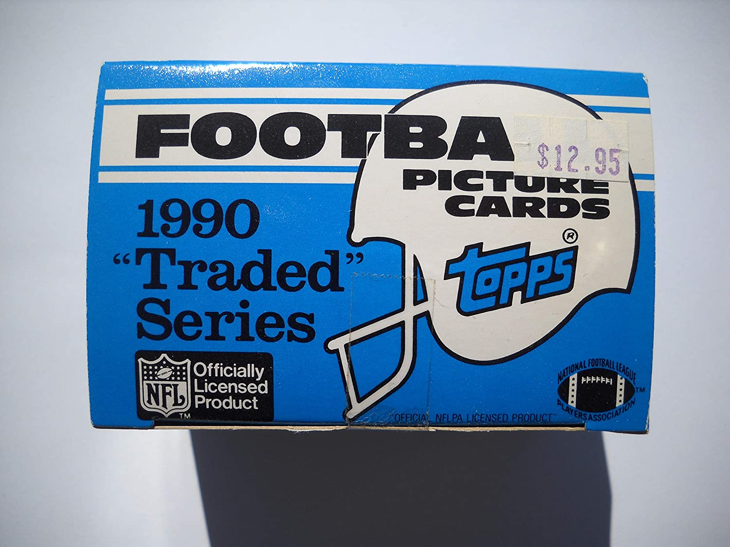 1990 Topps Football Traded Factory Set with Emmitt Smiths Rookie Card!