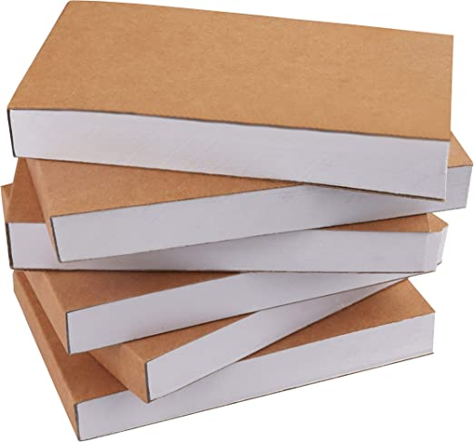 Flipbook en Blanco (Pack de 6) - 11,5 x 6,5cm Pequeño Cuaderno de Dibujo para Animación, Mini Drawing book 180 Páginas (90 Hojas) - Flip Book Papel Manualidades Creatividad Niños: Amazon.es: Hogar