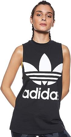 adidas Trefoil Camiseta sin Mangas, Mujer: Amazon.es: Ropa y accesorios
