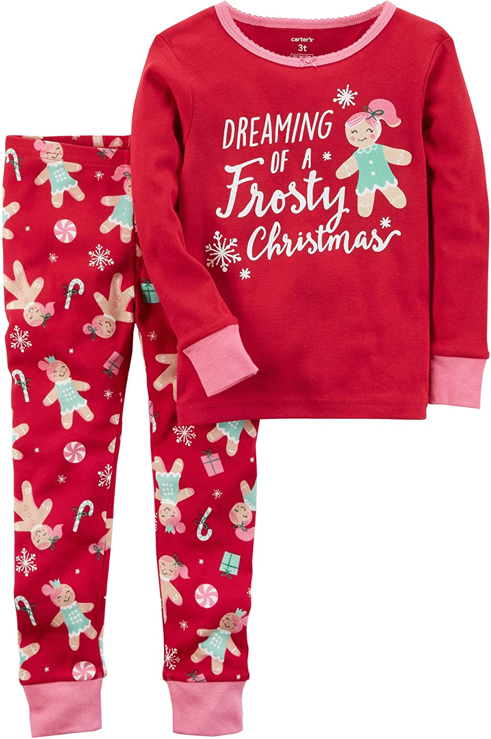 436382bf4 Amazon.com  Carter s Girls  2 Piece Pj Set (377g022l)  Clothing