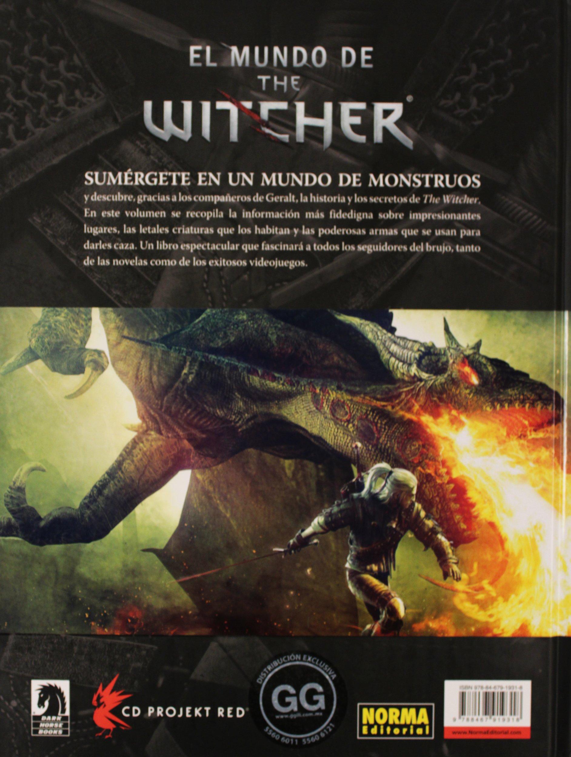 EL MUNDO DE THE WITCHER. COMPENDIO DEL VIDEOJ Comic Usa ...