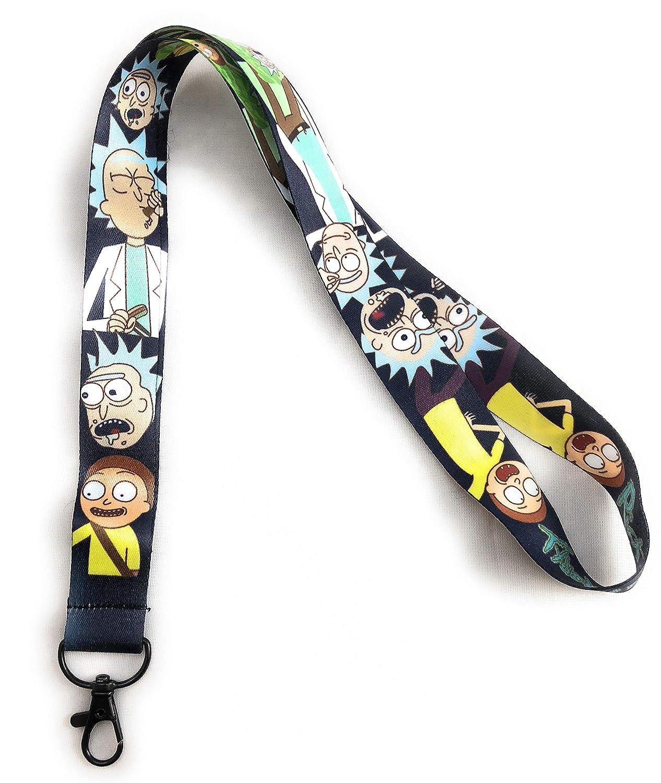 Rick and Morty - Correa para llaves de identificación ...